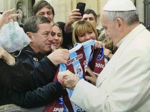 Pte Juv Alianza con el Papa