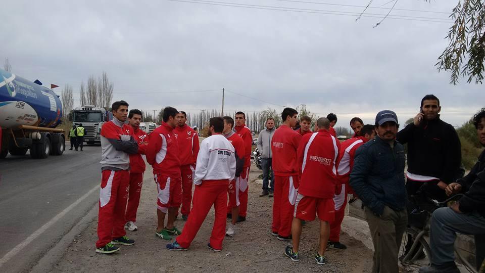 Independiente varado