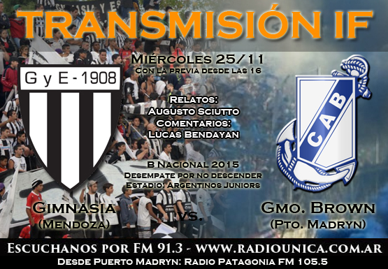transmi gimnasia brown madryn