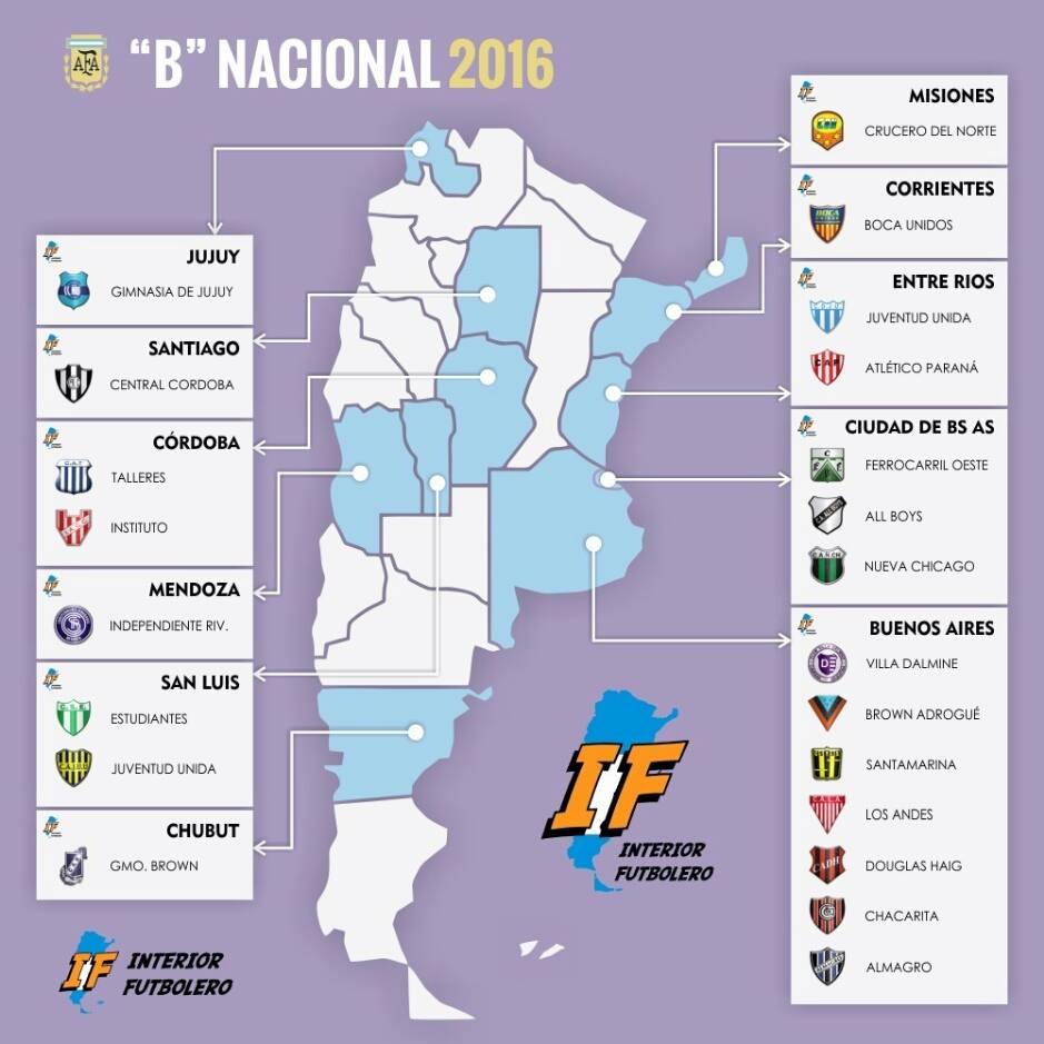 b nacional mapa 2016