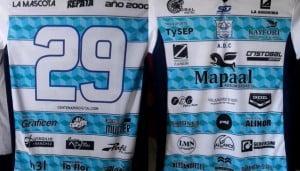 Camiseta de Centenario 32 Sponsors