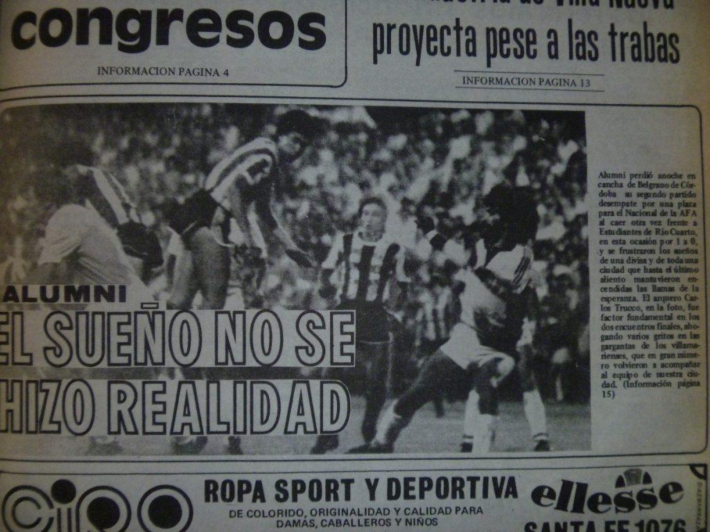 Alumni-Estudiantes (Archivo El Diario)