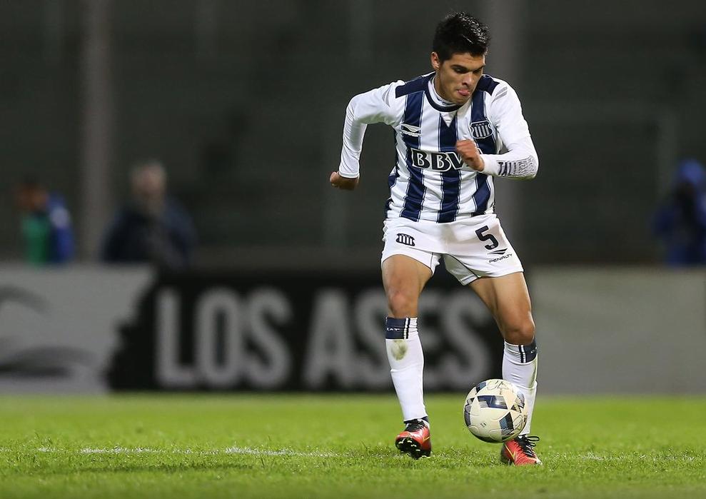 Fernando Juárez en Talleres (Foto: Prensa Talleres)