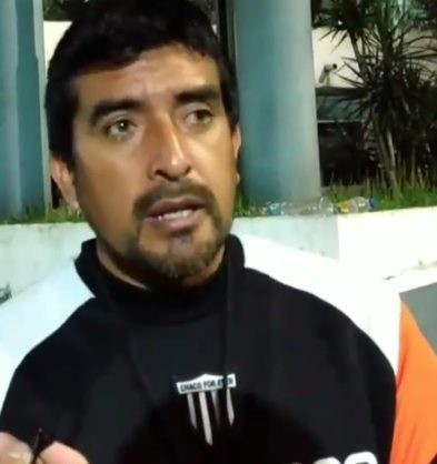Norberto Acosta DT Chaco For Ever Prensa Chaco For Ever