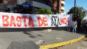 Foto de banderazo San Martín de Tucuman